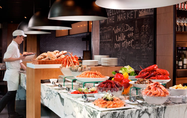Incredible The Market Hotel Buffet In Hong Kong Hotel Icon Download Free Architecture Designs Terchretrmadebymaigaardcom